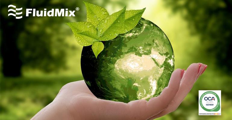 Fluidmix obtiene la certificación ambiental ISO 14001:2015