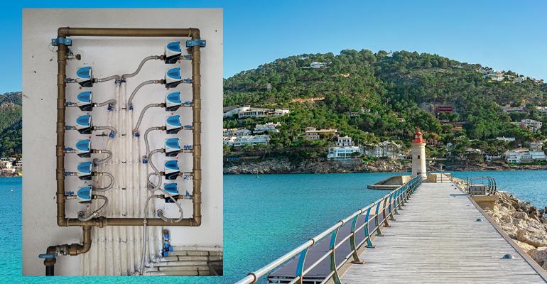 Acciona confía en Sensus para la gestión del consumo de agua de Andratx