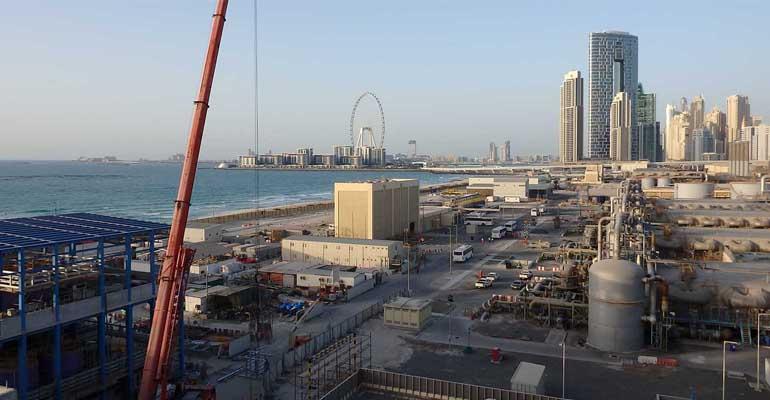 Ya está en marcha la desalinizadora de Jebel Ali en Dubai, un proyecto de Acciona