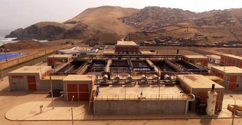 La depuradora peruana de La Chira, construida y operada por Acciona, cumple 5 años en funcionamiento