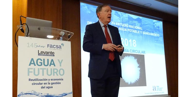 Aeas explica las claves de la contribución del sector del agua urbana a la economía circular