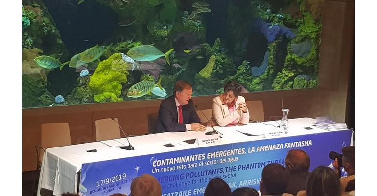 AEAS destaca la preocupación del sector del agua urbana por los contaminantes emergentes