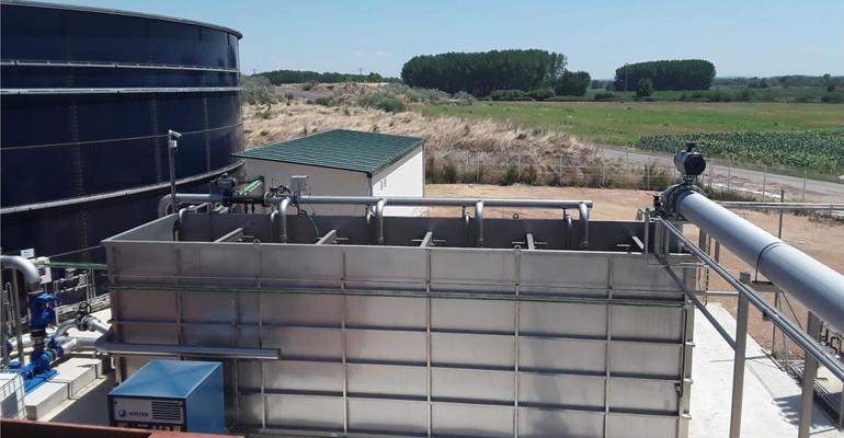 Aema ejecuta un nuevo proyecto mancomunado de depuración industrial de aguas en Navarra