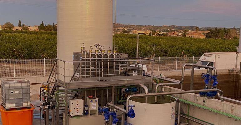 Aema mejora el sistema de depuración de la empresa cárnica Pujante