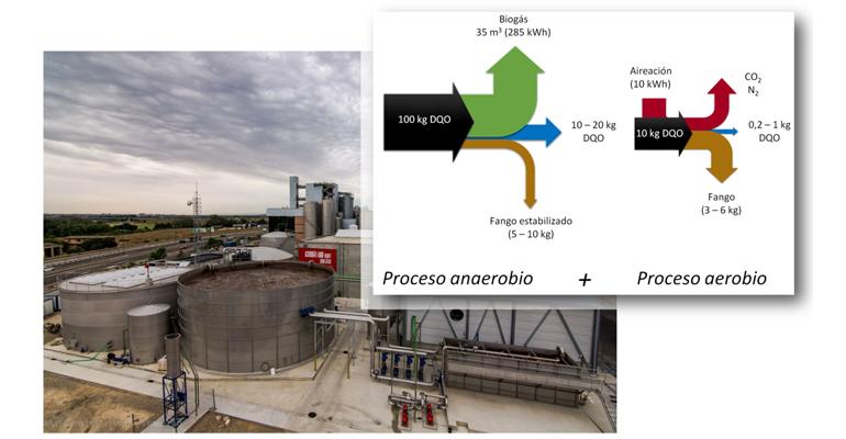 Aema: Combinación de sistemas aerobios y anearobios para la depuración de aguas