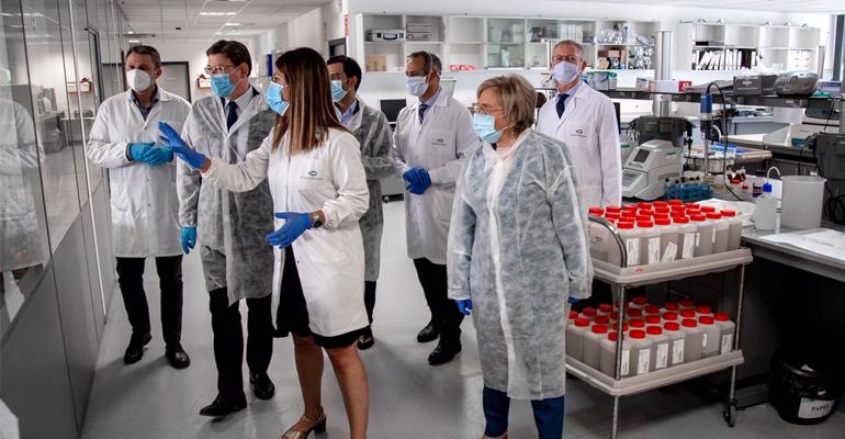 Agua y coronavirus: Gamaser recibe la visita del presidente de la Generalitat Valenciana como empresa ´centinela´ ante la Covid-19