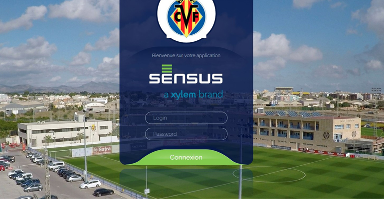 Agua y fútbol: Sensus controla los consumos de la Ciudad Deportiva del Villarreal