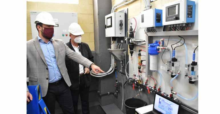 Aguas de Lorca implanta el análisis en continuo de trihalometanos en el agua potable de la red municipal