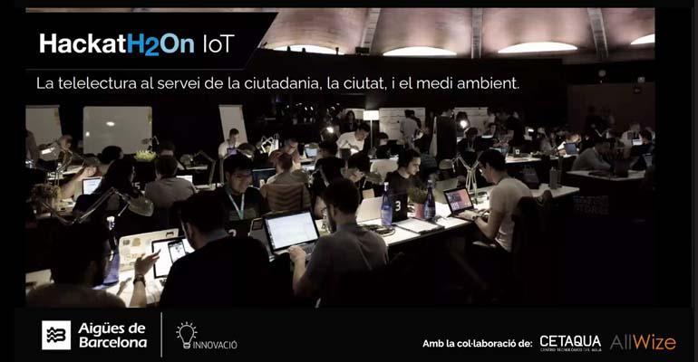 Aigües de Barcelona impulsa la edición IoT de la HackatH2On para explorar las posibilidades del uso de la tecnología de la telelectura
