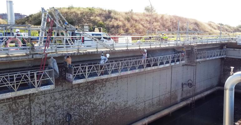 alco-andamios-mantenimiento-reparacion-estacion-depuradora-aguas-residuales-sant-feliu-llobregat