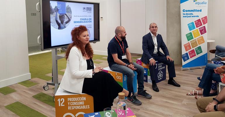 Aqualia: alianza estratégica con ACNUR por el agua y el saneamiento