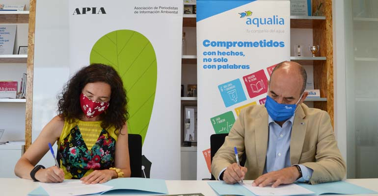 Alianza APIA-Aqualia para impulsar la información ambiental