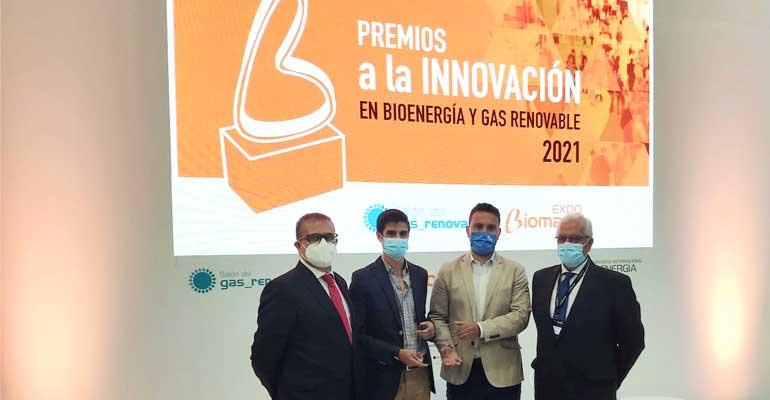 La biofactoría de Guijuelo de Aqualia, reconocida en los Premios a la Innovación 2021 de Avebiom