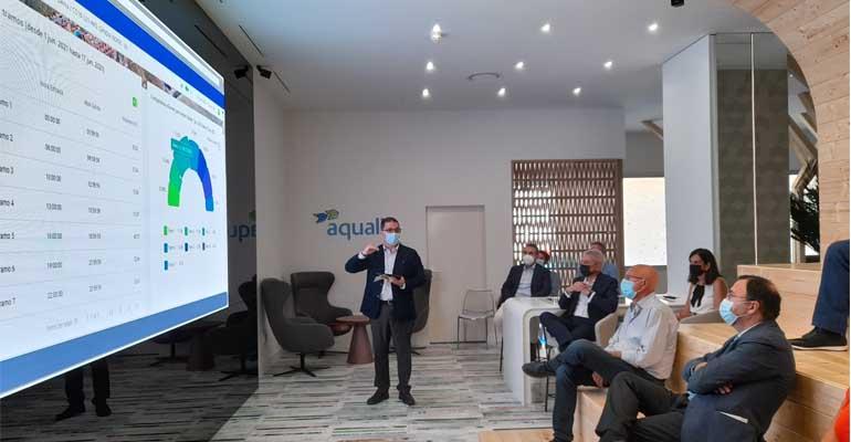 Centro tecnológico de Aqualia en Denia para desarrollar la digitalización del servicio de aguas municipal