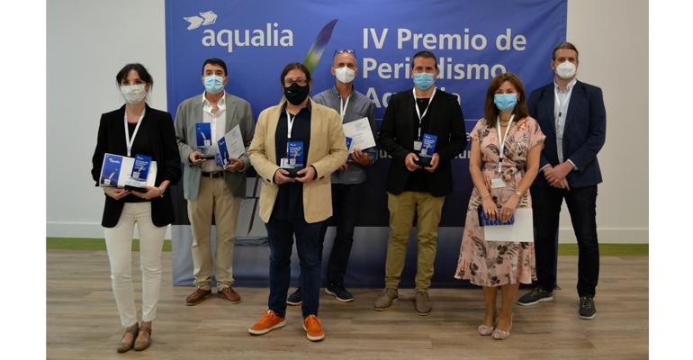 Aqualia eleva el valor social del agua con la entrega de sus premios de periodismo