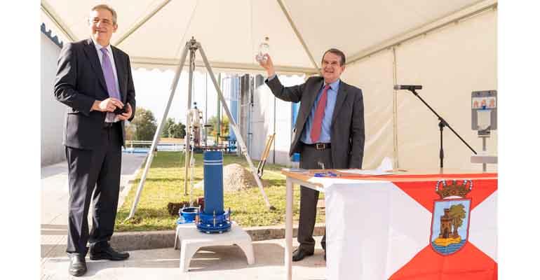 Primera piedra de la nueva ETAP de Vigo que gestiona Aqualia
