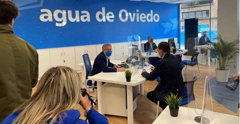 Nueva oficina de Aqualia en Oviedo