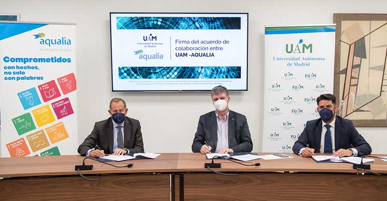 Aqualia y la UAM investigarán la detección temprana y el tratamiento de cianobacterias tóxicas en aguas de suministro