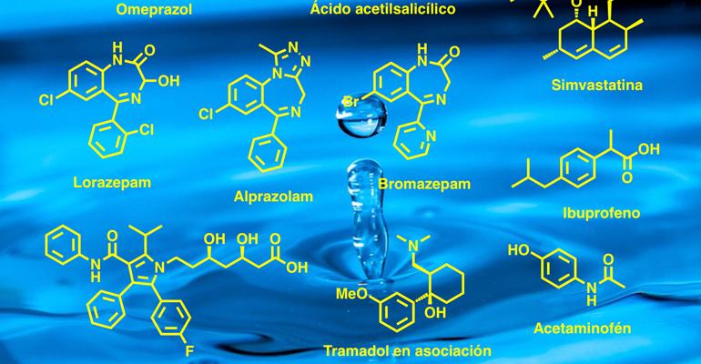 Fármacos en aguas residuales
