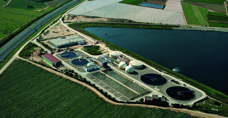 Emergentes y ubicuos: microplásticos en aguas residuales y EDAR. Monitorización de cuatro EDAR en la Región de Murcia
