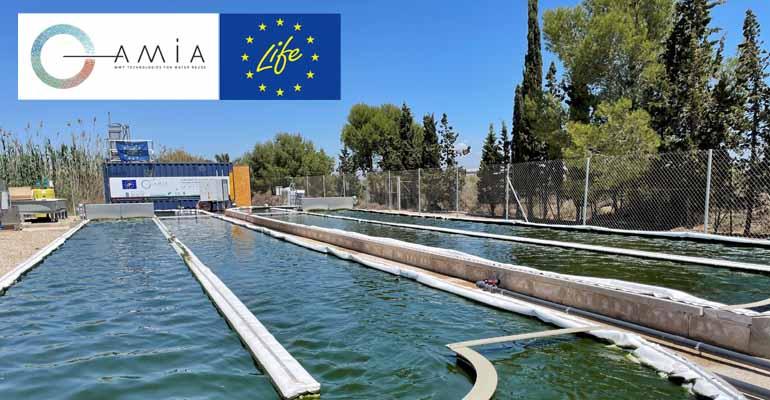 Proyecto Life Amia: tecnologías innovadoras para la depuración y eliminación de microcontaminantes en aguas