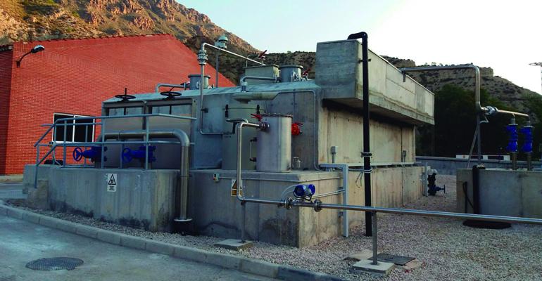 Reducción del consumo energético y de la producción de lodos mediante reactor anerobio en la EDAR Blanca de Murcia