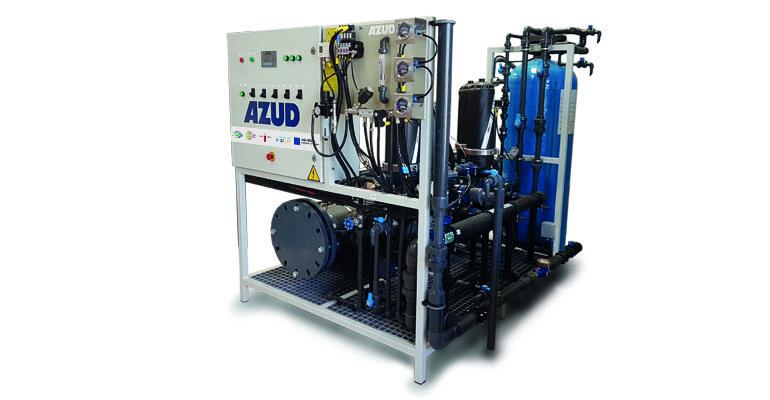 Sistema autosostenible de regeneración de agua para uso agrícola