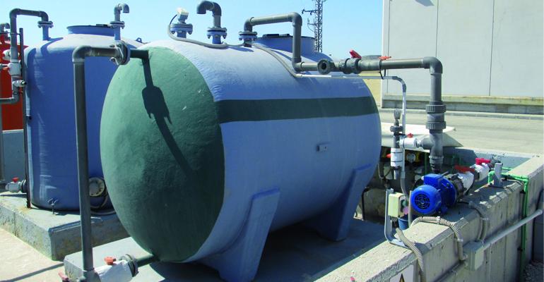 Subproductos de la desinfección de aguas residuales con hipoclorito: cloratos y trihalometanos