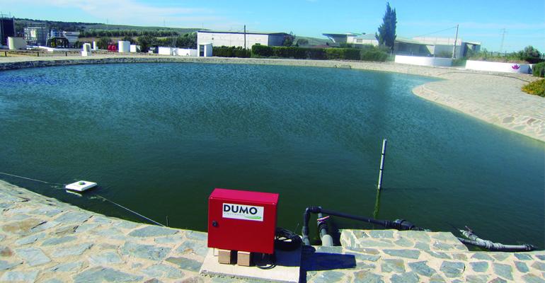 Efectos del tratamiento ultrasónico sobre las microalgas y algunos parámetros relacionados con la calidad del agua en una balsa de riego