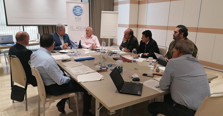 ASA Andalucía presenta sus propuestas al Pacto Andaluz por el Agua