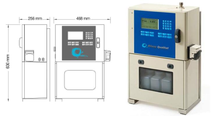 Bilanz Qualitat: Medidor de fosfatos sin filtración