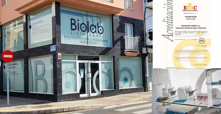 Laboratorios Biolab renueva su acreditación ENAC