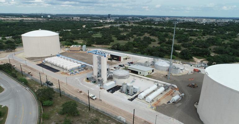 Cadagua, presente en una planta de tratamiento de agua potable en la ciudad texana de San Antonio
