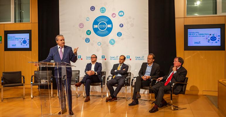 Canal de Isabel II presenta los avances de la telelectura de contadores con tecnología NB-IoT