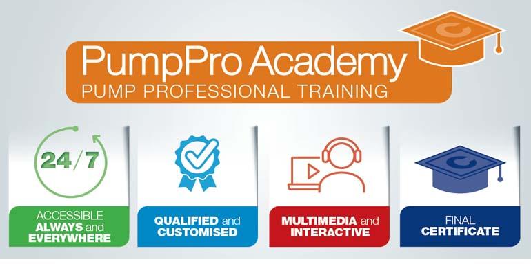 PumpPro Academy es la nueva academia formativa de Caprari sobre bombas y otras soluciones de bombeo