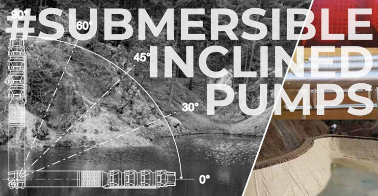 Caprari: Electrobombas sumergibles inclinadas