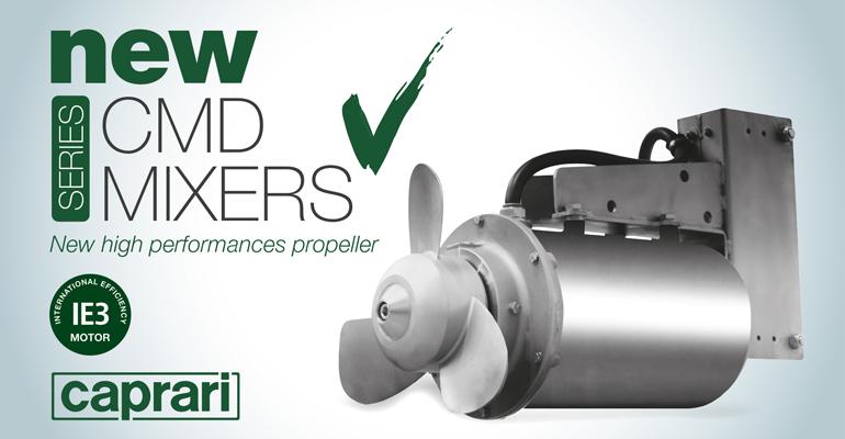 Caprari: Mezcladores sumergibles