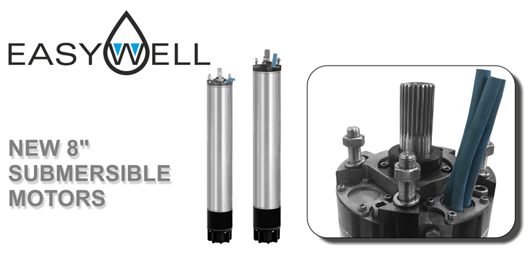 Caprari: Motores sumergidos rebobinables