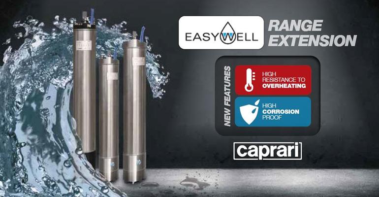 Caprari: Nuevas potencias para sus motores sumergidos