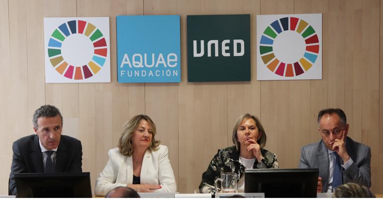 La Cátedra Aquae presenta un protocolo medioambiental para que las universidades reduzcan sus consumos de agua y energía