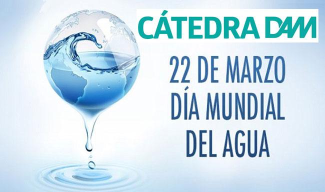 Cartel de la Cátedra DAM con motivo del Día Mundial del Agua