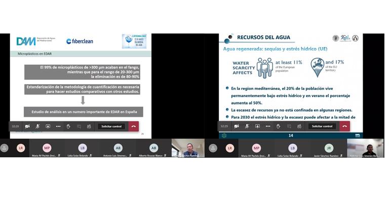 Ciclo de conferencias digitales de la Cátedra DAM sobre investigación en aguas residuales