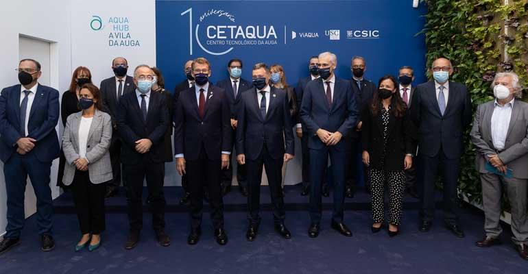 Cetaqua Galicia celebra su décimo aniversario consolidándose como polo de innovación