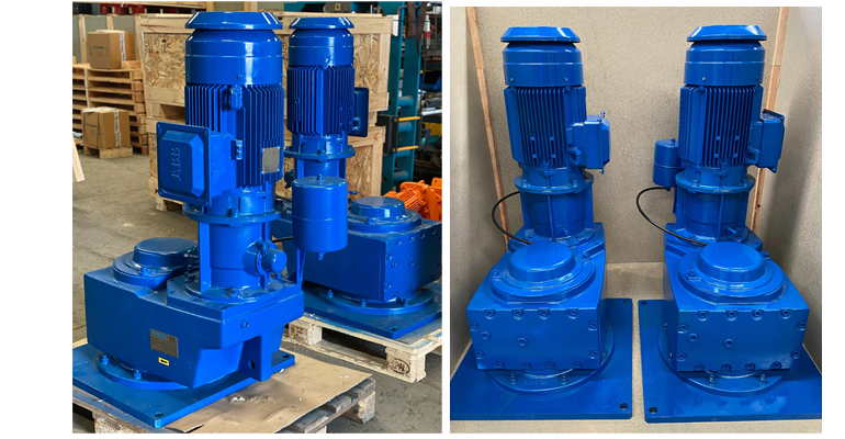 Cramix entrega seis agitadores Fluidmix para mantenimiento de sólidos en suspensión