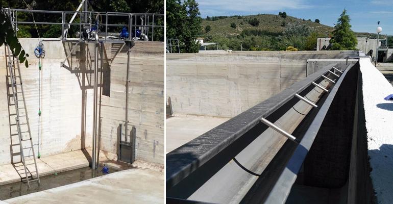 DAM finaliza las obras del tanque de tormentas de la EDAR de Cehegín en Murcia