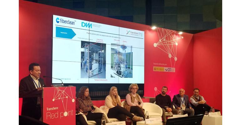 DAM presenta el potencial del proyecto Fiberclean en un foro internacional de I+D+i