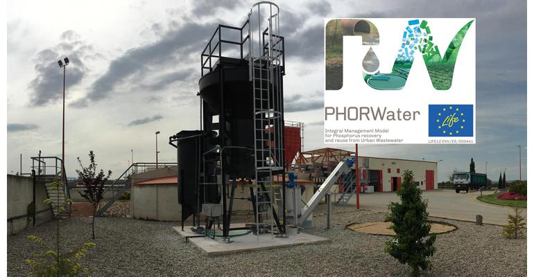 DAM desarrolla el proyecto Phorwater de economía circular en EDAR