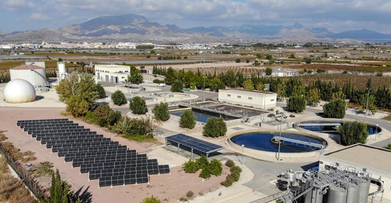 Nueva planta fotovoltaica en la EDAR de Novelda- Monforte que gestiona DAM-SAV
