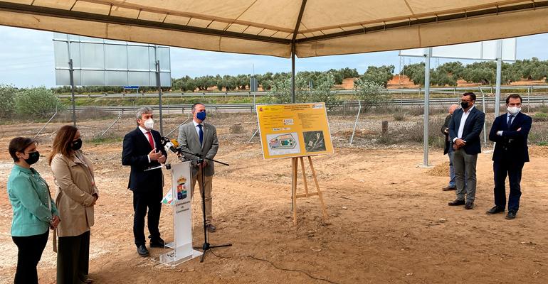 Dinotec inicia las obras de la EDAR del Polígono Guadiel en Guarroman, Jaén