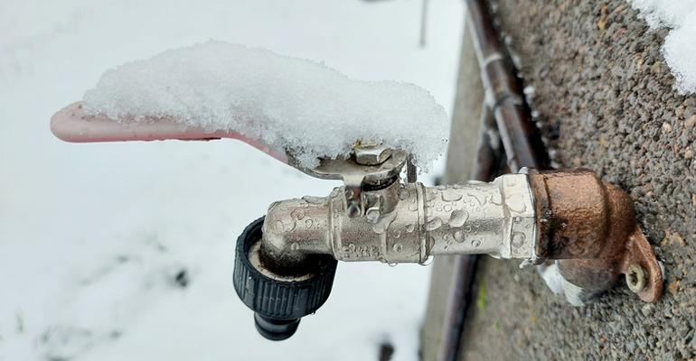 Congelaciones de acometidas y contadores: una experiencia real